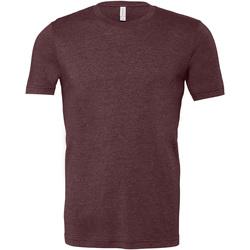 Kleidung Herren T-Shirts Bella + Canvas CA3001 Kastanie meliert