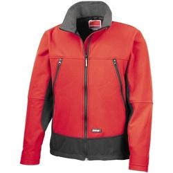 Kleidung Herren Windjacken Result R120X Rot/Schwarz