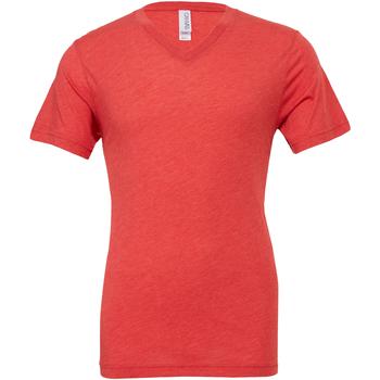 Kleidung Herren T-Shirts Bella + Canvas CA3415 Hellrot