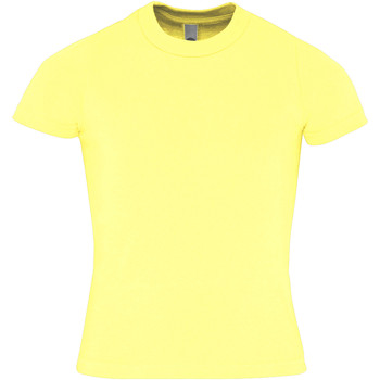 Kleidung Kinder T-Shirts American Apparel AA057 Zitrone