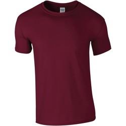 Kleidung Herren T-Shirts Gildan GD01 Weinrot