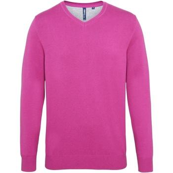 Kleidung Herren Pullover Asquith & Fox AQ042 Hell rosa