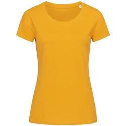 Kleidung Damen T-Shirts Stedman Stars  Goldgelb