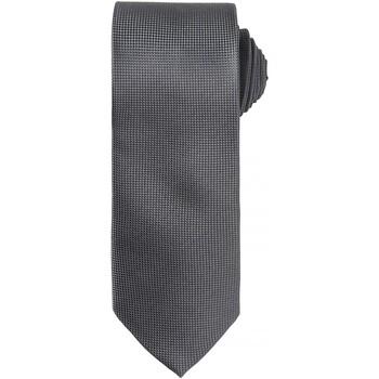 Kleidung Herren Krawatte und Accessoires Premier Waffle Dunkelgrau