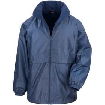Kleidung Herren Windjacken Result DWL Marineblau