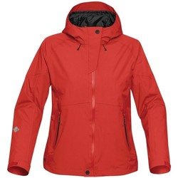 Kleidung Damen Lederjacken / Kunstlederjacken Stormtech THX-2W Scarlet