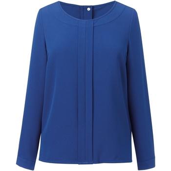 Kleidung Damen Tops / Blusen Brook Taverner BR121 Königsblau