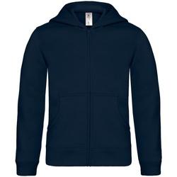 Kleidung Kinder Sweatshirts B And C B421B Marineblau