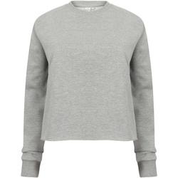 Kleidung Damen Sweatshirts Skinni Fit SK515 Grau meliert