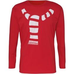Kleidung Herren Langarmshirts Christmas Shop CJ205 Rot