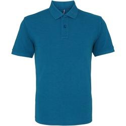 Kleidung Herren Polohemden Asquith & Fox AQ010 Petrol meliert