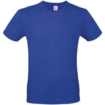 Kleidung Herren T-Shirts B And C TU01T Kobaltblau