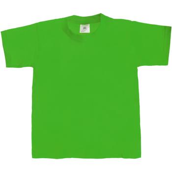 Kleidung Kinder T-Shirts B And C TK301 Grün