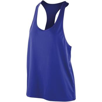 Kleidung Damen Tops Spiro SR285F Sapphire