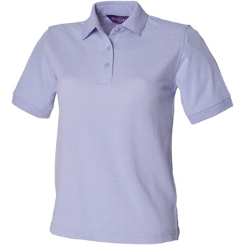 Kleidung Damen Polohemden Henbury HB401 Lila