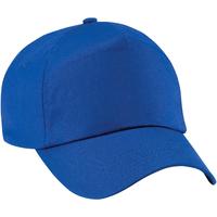 Accessoires Kinder Schirmmütze Beechfield B10B Royal Blau
