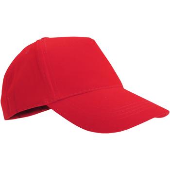 Accessoires Kinder Schirmmütze Sols 88111 Rot
