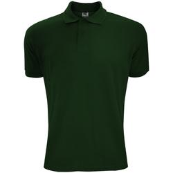 Kleidung Herren Polohemden Sg Polycotton Flaschengrün