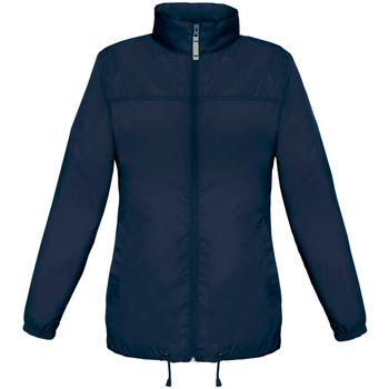 Kleidung Damen Windjacken B And C JW902 Marineblau