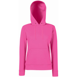 Kleidung Damen Sweatshirts Fruit Of The Loom 62038 Fuchsie