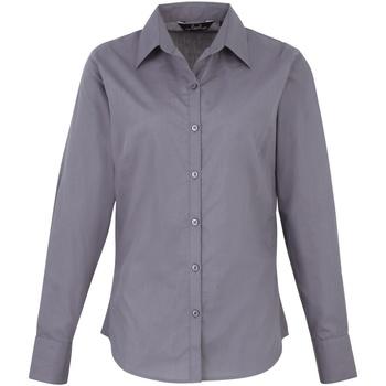 Kleidung Damen Hemden Premier PR300 Stahl
