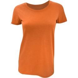 Kleidung Damen T-Shirts Bella + Canvas BE8413 Orange Triblend