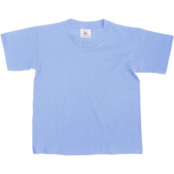 Kleidung Kinder T-Shirts B And C TK300 Denim