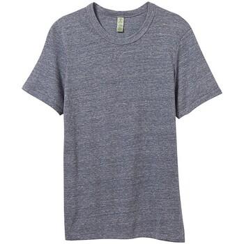 Kleidung Herren T-Shirts Alternative Apparel AT001 Eco-Marineblau