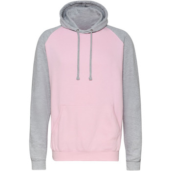 Kleidung Herren Sweatshirts Awdis JH009 Baby Rosa/Grau meliert
