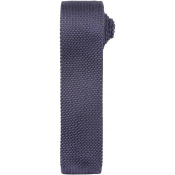 Kleidung Herren Krawatte und Accessoires Premier Textured Stahl