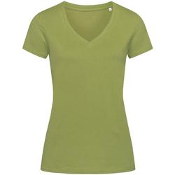 Kleidung Damen T-Shirts Stedman Stars Janet Olivgrün