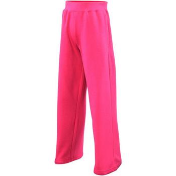 Kleidung Mädchen Jogginghosen Awdis JH71J Dunkles Pink