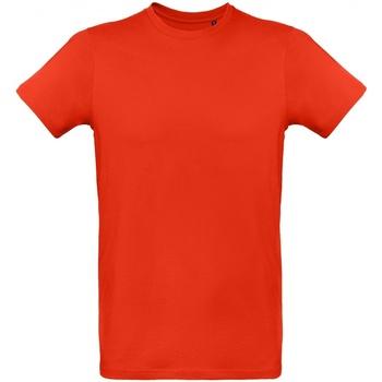 Kleidung Herren T-Shirts B And C TM048 Feuerrot