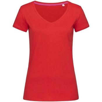 Kleidung Damen T-Shirts Stedman Stars Megan Purpurrot