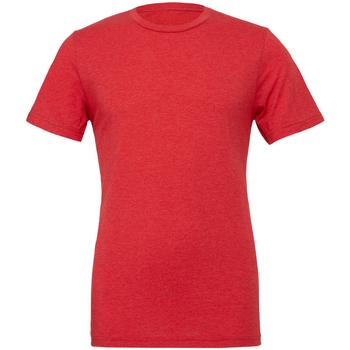 Kleidung Herren T-Shirts Bella + Canvas CA3413 Rot Triblend
