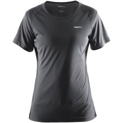 Kleidung Damen T-Shirts Craft CT86F Eisen