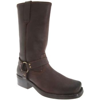 Schuhe Herren Klassische Stiefel Woodland Harley Dunkelbraun