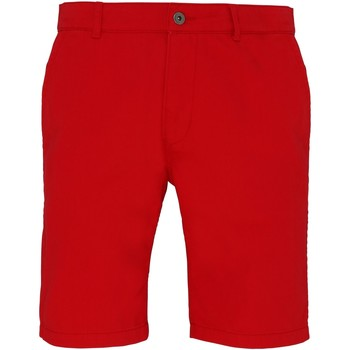 Kleidung Herren Shorts / Bermudas Asquith & Fox AQ051 Kirschrot