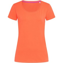 Kleidung Damen T-Shirts Stedman Stars  Lachsrosa