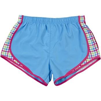 Kleidung Damen Shorts / Bermudas Boxercraft Velocity Saphir/Plaidmuster