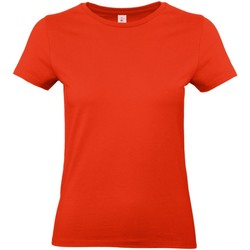 Kleidung Damen T-Shirts B And C E190 Feuerrot