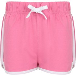 Kleidung Kinder Shorts / Bermudas Skinni Fit SM69 Pink/Weiß
