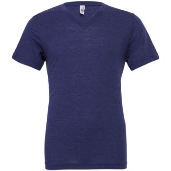 Kleidung Herren T-Shirts Bella + Canvas CA3415 Dunkelblau