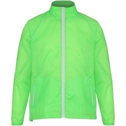 Kleidung Herren Windjacken 2786 TS011 Limette/Weiß