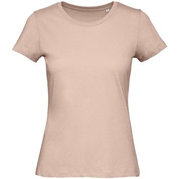 Kleidung Damen T-Shirts B And C TW043 Blassrosa
