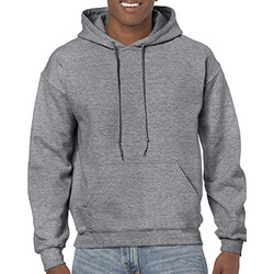 Kleidung Sweatshirts Gildan 18500 Graphit meliert