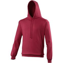 Kleidung Sweatshirts Awdis College Preiselbeer
