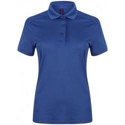Kleidung Damen Polohemden Henbury HB461 Königsblau