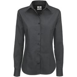 Kleidung Damen Hemden B And C SWT83 Dunkelgrau