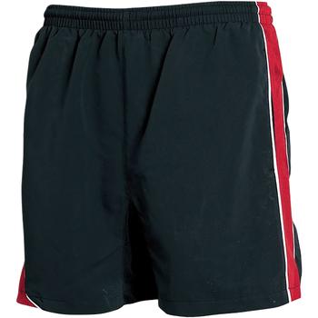 Kleidung Herren Shorts / Bermudas Tombo Teamsport TL081 Schwarz/Rot/Weiß